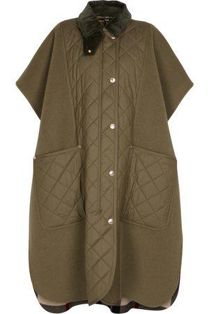 Burberry Toney wool-blend cape