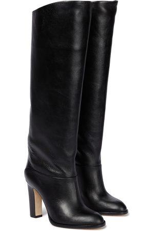 Paris Texas Kiki leather knee-high boots