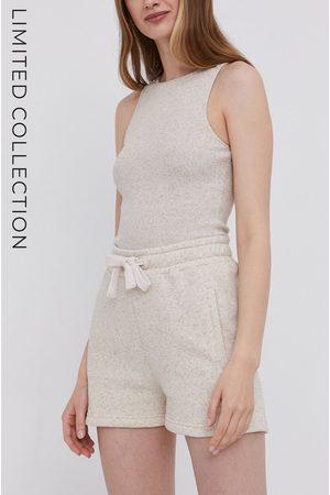 Answear Lab Answear.LAB X Paulina Krupińska Szorty z certyfikatem OEKO-TEX kolekcja limitowana Ethical Wardrobe