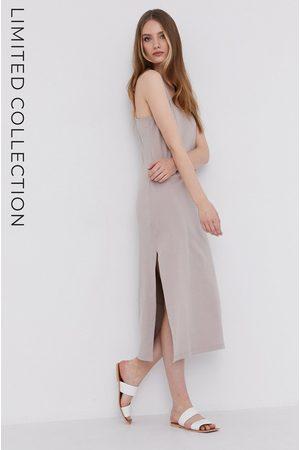 Answear Lab Answear.LAB X Paulina Krupińska Sukienka z certyfikatem OEKO-TEX kolekcja limitowana Ethical Wardrobe