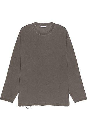JOHN ELLIOTT Folsom Long Sleeve Tee in - Black. Size L (also in S, M, XL).