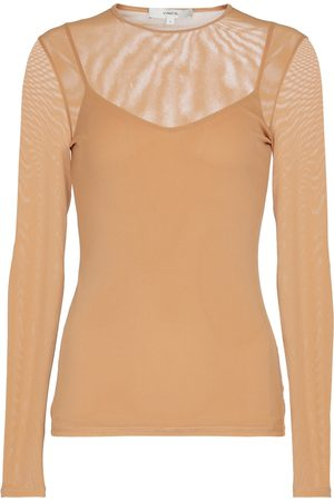 Vince Double Layer long-sleeved T-shirt