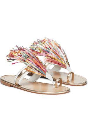 Christian Louboutin Kobieta Sandały - Festividade leather sandals