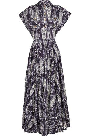 Giambattista Valli Printed cotton maxi dress