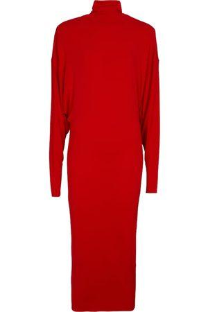 ALEXANDRE VAUTHIER Turtleneck stretch-jersey midi dress