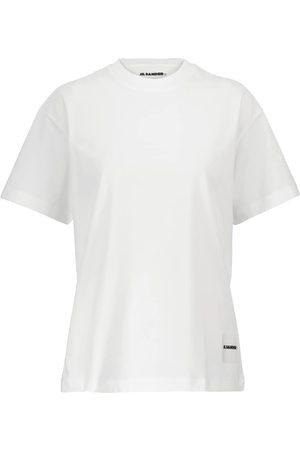 Jil Sander Kobieta Z krótkim rękawem - Plus set of 3 cotton jersey T-shirts