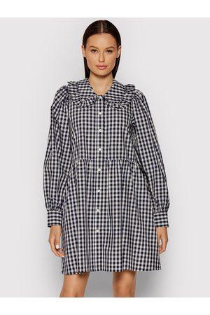 Levi's Sukienka koszulowa Mira A0802-0001 Granatowy Regular Fit