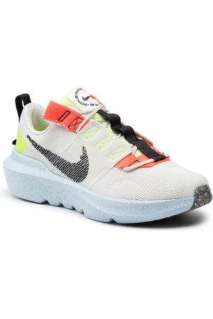 Nike Buty - Crater Impact (Gs) DB3551 010 Light Bone/Black/Stone