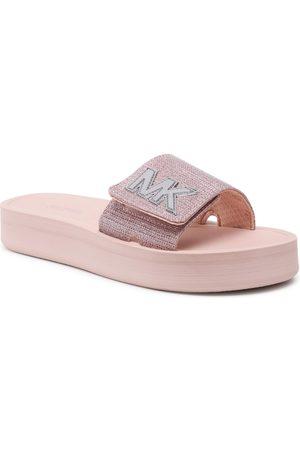 Michael Kors Klapki - Mk Platform Slide 40S1MKFA1D Soft Pink