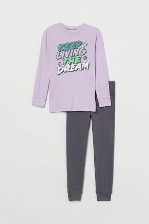 H&M Dżersejowa piżama