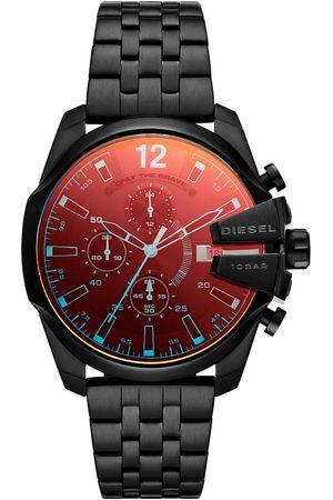 Diesel Mężczyzna Zegarki - Zegarek - Baby Chief Chronograph DZ4566 Black/Black
