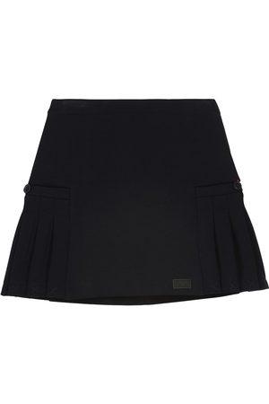 Emporio Armani Dziewczynka Spódnice - Cotton-blend jersey skirt