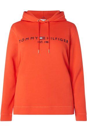 Tommy Hilfiger Kobieta Bluzy z kapturem - Bluza z kapturem PLUS SIZE z wyhaftowanym logo
