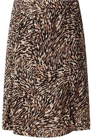 SET Spódnica mini z wiskozy