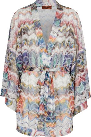 Missoni Mare Knitted belted minidress