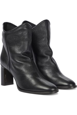 Max Mara Bly leather ankle boots
