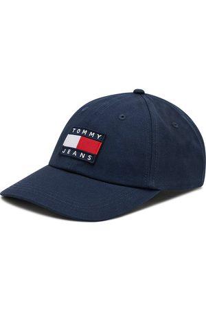 Tommy Jeans Czapka z daszkiem Heritage Cap Print AM0AM07532 Granatowy