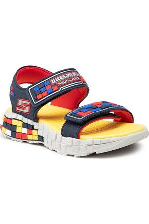 Skechers Sandały Craft Sandal 400070L/NVRD Granatowy