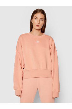adidas Kobieta Bluzy sportowe - Bluza adicolor Essentials H06659 Loose Fit