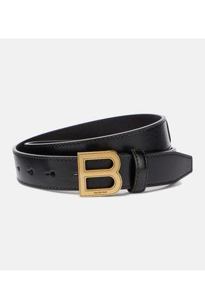 Balenciaga Hourglass leather belt