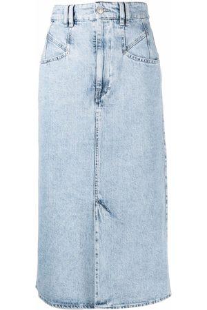 Isabel Marant Kobieta Spódnice jeansowe - Blue
