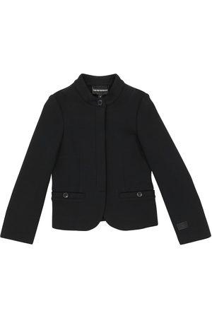 Emporio Armani Double jersey cotton jacket