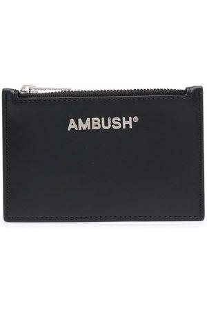 AMBUSH Portmonetki i Portfele - CARD CASE SILVER