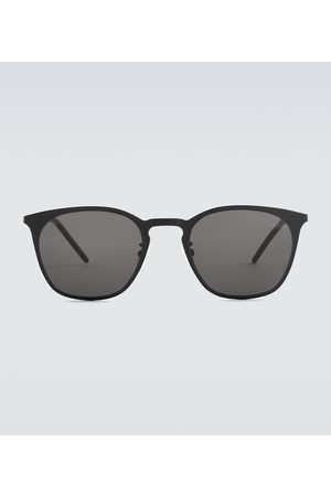 Saint Laurent Square-frame metal sunglasses