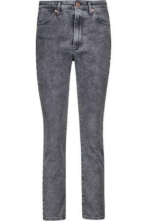 3x1 Kobieta Z wysokim stanem - Channel Seam high-rise skinny jeans