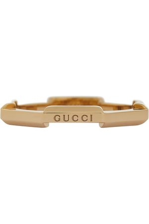 Gucci Link to Love 18kt gold ring