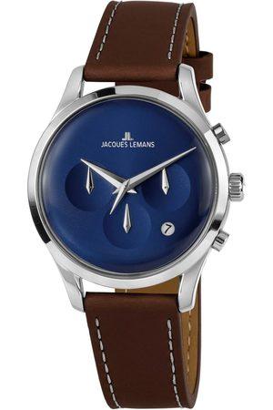 Jacques Lemans Mężczyzna Zegarki - Zegarek - 1-2067C Case/Ss Steel