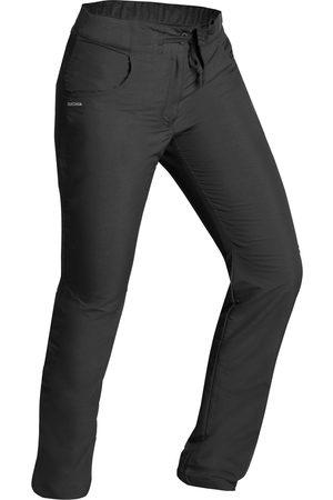 QUECHUA Spodnie turystyczne damskie SH100 U-Warm