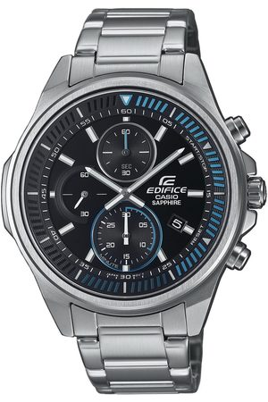 Casio Mężczyzna Zegarki - Zegarek - Edifice EFR-S572D-1AVUEF Silver/Silver