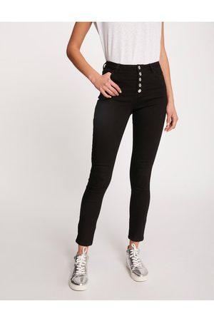 Morgan Jeansy 211-PBLACK Skinny Fit