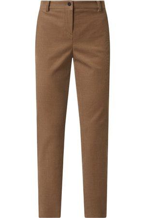 Windsor Kobieta Spodnie - Spodnie sztruksowe z dodatkiem streczu