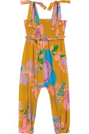 ZIMMERMANN Teddy floral cotton jumpsuit
