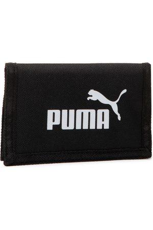 PUMA Mężczyzna Portmonetki i Portfele - Duży Portfel Męski - Phase Wallet 075617 01 Black