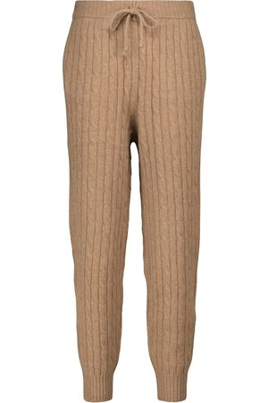 Polo Ralph Lauren Cable-knit wool and cashmere sweatpants