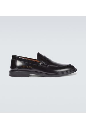 COMMON PROJECTS Brogsy i Mokasyny - Leather loafers