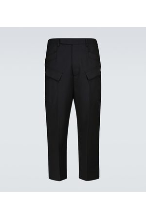 Rick Owens Bojówki - Astaires cropped technical pants