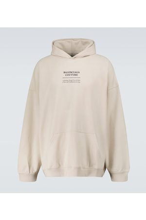 Balenciaga Bluzy z kapturem - Couture hooded sweatshirt