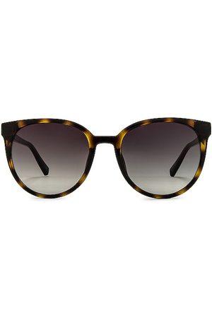 Le Specs Kobieta Okulary przeciwsłoneczne - Armada Sunglasses in - Brown. Size all.