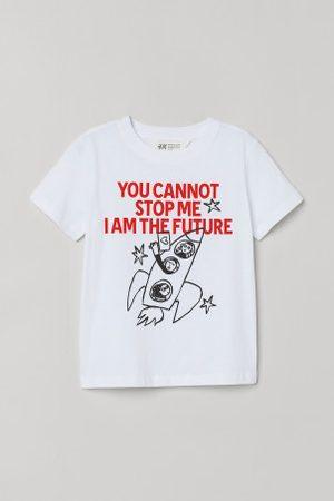 H&M T-shirt z nadrukiem