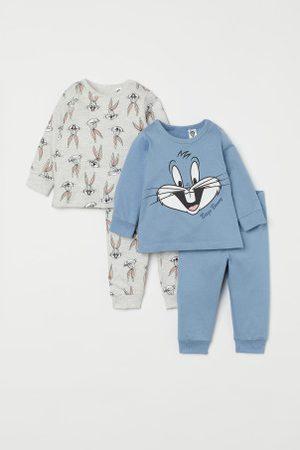 H&M Piżamy - Dżersejowa piżama 2-pak