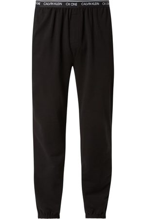 Calvin Klein Spodnie dresowe z dodatkiem streczu