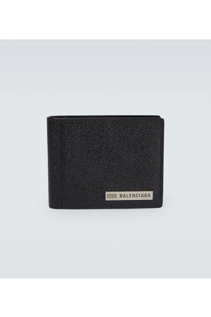 Balenciaga Grained leather wallet