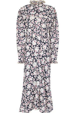 Isabel Marant Darcy floral cotton midi dress