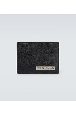 Balenciaga Grained leather cardholder