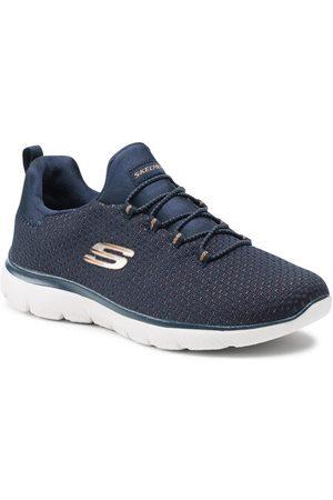 Skechers Sneakersy Bright Bezel 149204/NVGD Granatowy