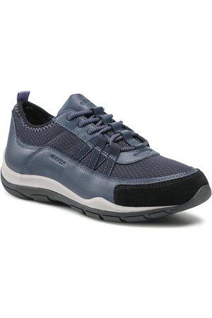 Geox Sneakersy D Kander A D020LA 01454 C4002 Granatowy